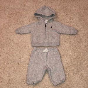 Ralph Lauren baby boy 3M sweatsuit - NEVER WORN